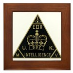 United Kingdom Intelligence Framed Tile