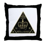 United Kingdom Intelligence Throw Pillow