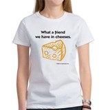 """Friend in cheeses"" Ash Grey T-Shirt"