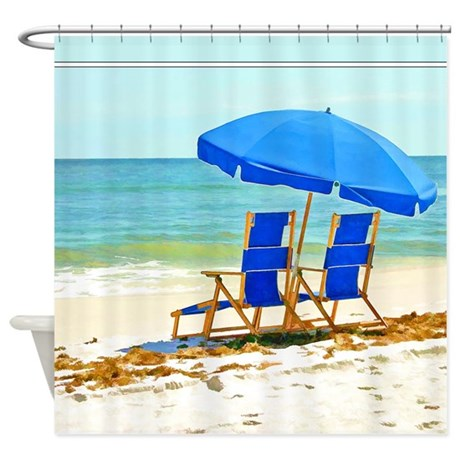 Umbrella Shower Curtain by coconut_store