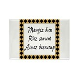 Cute Word Rectangle Magnet