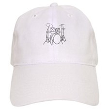 Cute Rock and roll birthday Baseball Cap