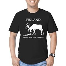 Land of Moose and Booze T-Shirt
