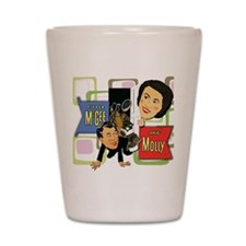 Fibber McGee And Molly Shot Glass