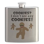 Gingerbread Man Disguise Flask