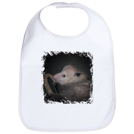 Sleepy Possum Bib