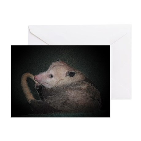 Sleepy Possum Greeting Cards (Pk of 10)