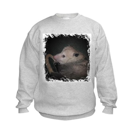 Sleepy Possum Kids Sweatshirt