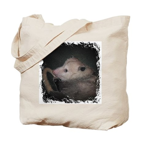 Sleepy Possum Tote Bag