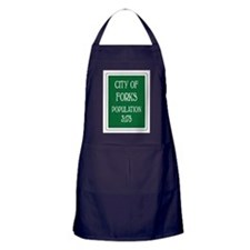 Twilight Forks Sign Apron (dark)