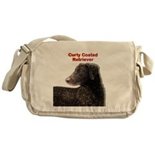 Curly Coated Retriever Messenger Bag