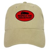 Red RESPECT THE SQUATCH! Hat