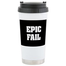 Epic Fail Ceramic Travel Mug