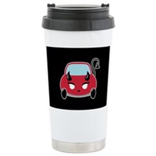 Cute Devil Car Ceramic Travel Mug