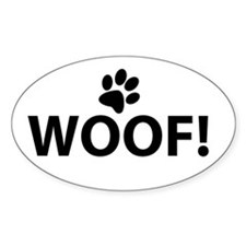 Woof! Stickers