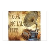100% Digital Free! Postcards (Package of 8)