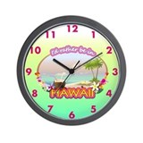 HAWAII 2.png Wall Clock