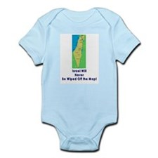 Israel Map Forever Infant Bodysuit