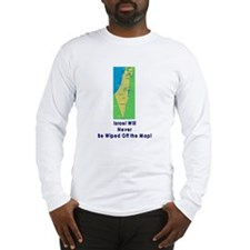 Israel Map Forever Long Sleeve T-Shirt
