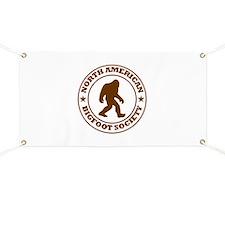 N. American Bigfoot Society Banner