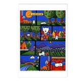 Westie Adventures Postcards (Package of 8)