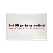 """Commitment"" Rectangle Magnet (10 pack)"
