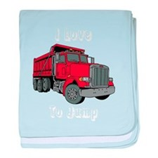 Dump Truck baby blanket