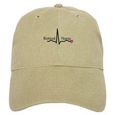 Retired Nurse QRS Baseball Baseball Cap