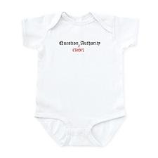 Question Ethen Authority Infant Bodysuit