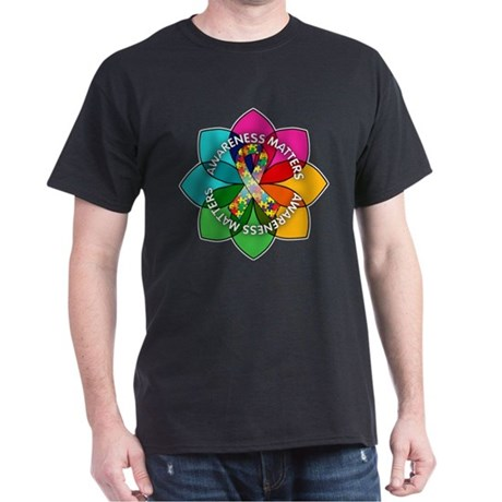 Autism Awareness Petal Dark T-Shirt