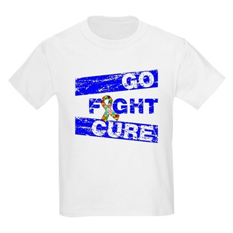 Autism Awareness Together Kids Light T-Shirt