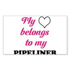 My Heart Belongs to my Pipeli Decal