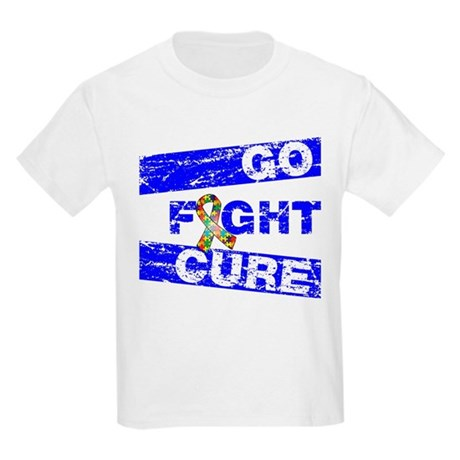 Autism Go Fight Cure Kids Light T-Shirt