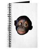 Baby Orangutan Face Journal