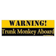 Original Trunk Monkey Bumper Bumper Sticker
