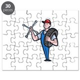 mechanical-carry-tyre-shoulder-wrench_EPS10 Puzzle