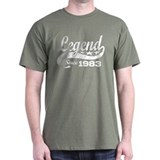 Legend Since 1983 T-Shirt