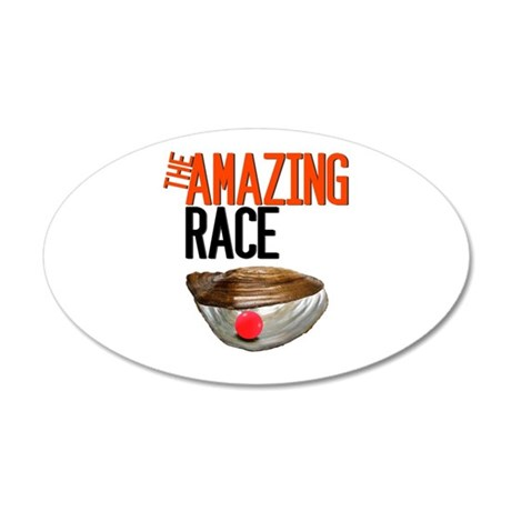 The Amazing Race Pearl Farming Wall Decal
