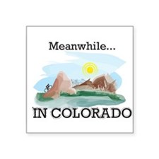 Meanwhile...in Colorado Sticker