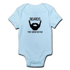Beards they grow on you Body Suit