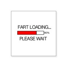 Fart Loading Please Wait Sticker