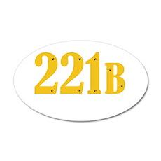 221B Wall Decal