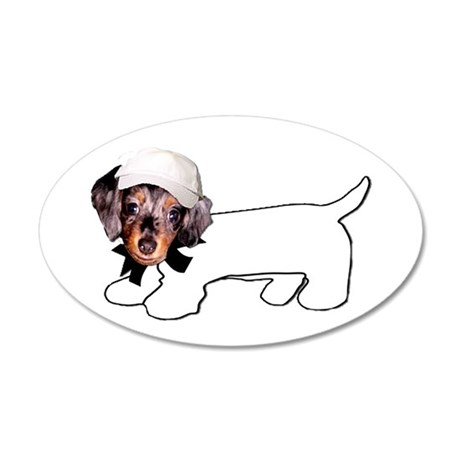 Autograph Hound 20x12 Oval Wall Decal