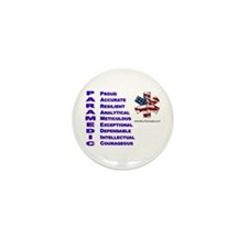 This Is A Paramedic Mini Button (10 pack)