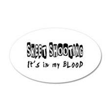 Skeet Shooting Designs Wall Sticker