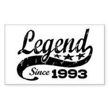 Legend Since 1993 Decal