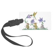 A Spring Tail Luggage Tag