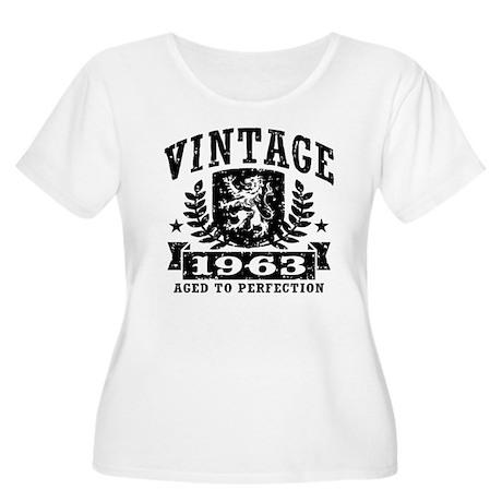 Vintage 1963 Women's Plus Size Scoop Neck T-Shirt