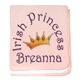 Irish Princess Breanna baby blanket