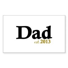 Dad Est 2013 Decal